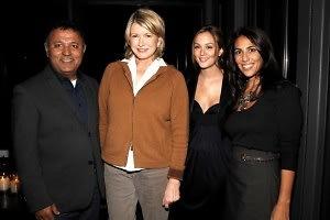 Elie Tahari, Martha Stewart, Leighton Meester, Rory Tahari