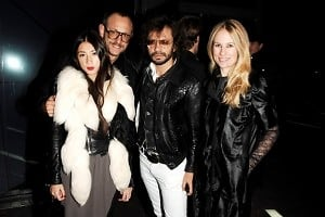 Jenn Brill, Terry Richardson, Olivier Zahm, Rebekah McCabe