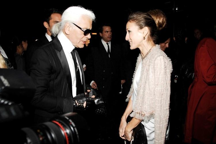 Karl Lagerfeld, Sarah Jessica Parker