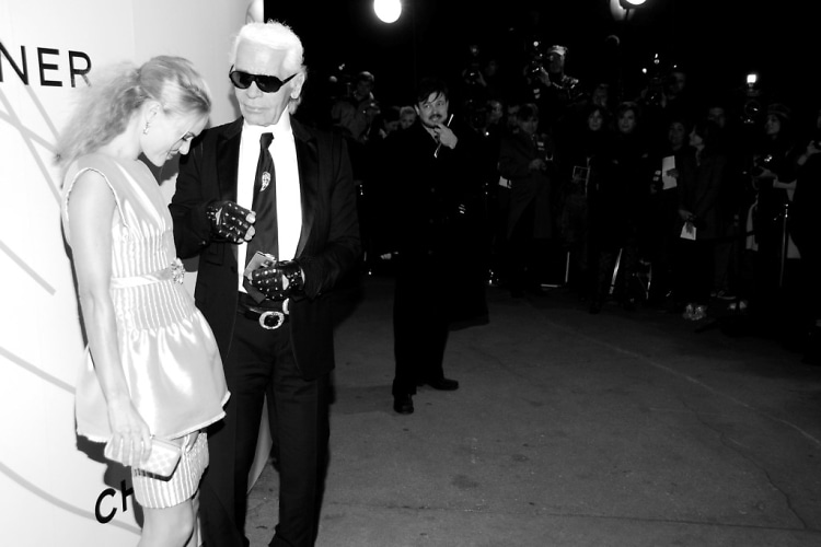 Kate Bosworth, Karl Lagerfeld