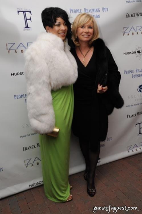 Lydia Harris and Sharon Bush