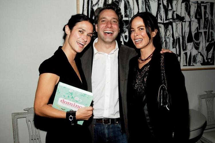 Sara Ruffin Costello, Thom Felicia, Alison Sarofim