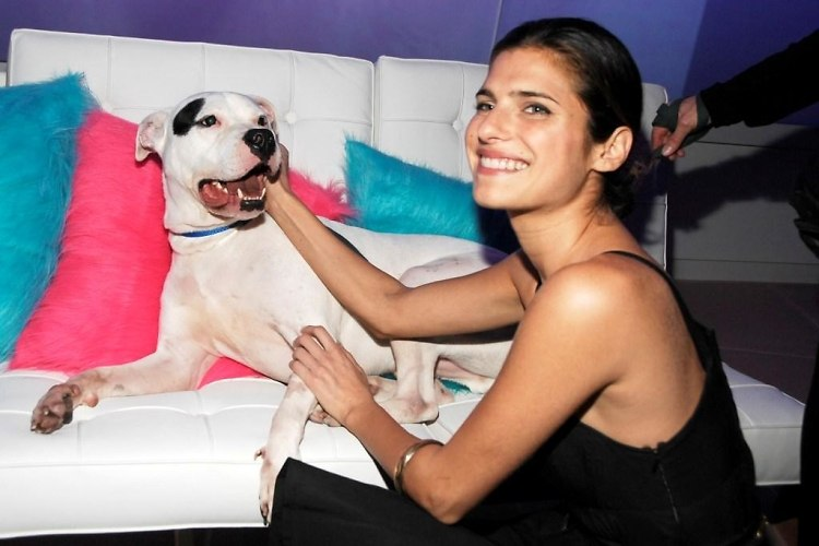 Petey the Dog with Lake Bell