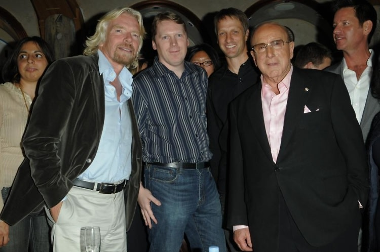 Richard Branson, Cameron Sinclair, Tony Hawk, Clive Davis