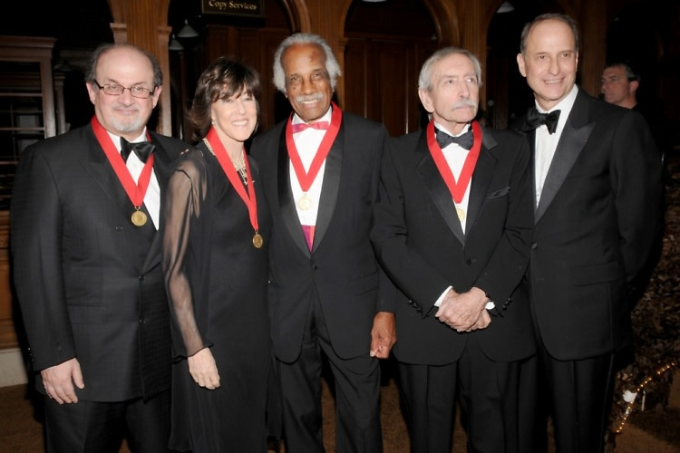 Salman Rushdie, Nora Ephron, Ashley Bryan, Edward Albee, Paul LeClerc