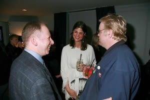 Steve Mendelson, Katrina Pavlos, Philip Seymour Hoffman