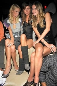 Paris Hilton, Brittany Flickinger, Nicky Hilton