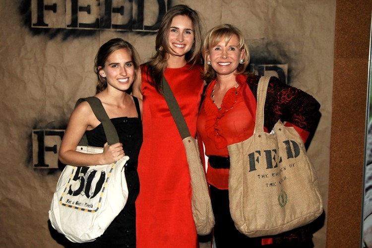 Ashley Bush, Lauren Bush, Sharon Bush