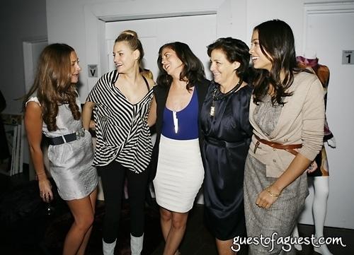 Marina Albright, Aimee Mullins, Nina Clemente, Irene Albright, Rosario Dawson