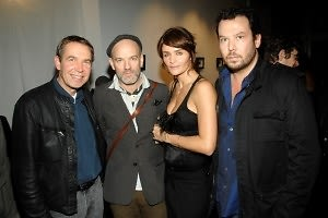 Jeff Koons, Michael Stipe, Helena Christensen, Neil Grayson