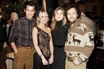 Luigi Tadini, Amanda Hearst, Lauren Bush, David Lauren