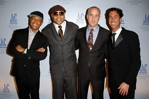 Russell Simmons, LL Cool J, Neil Goldberg, Scott Rausch