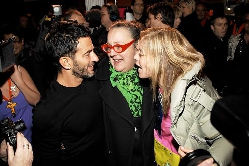 Marc Jacobs, Kim Hastreiter, Paige Powell