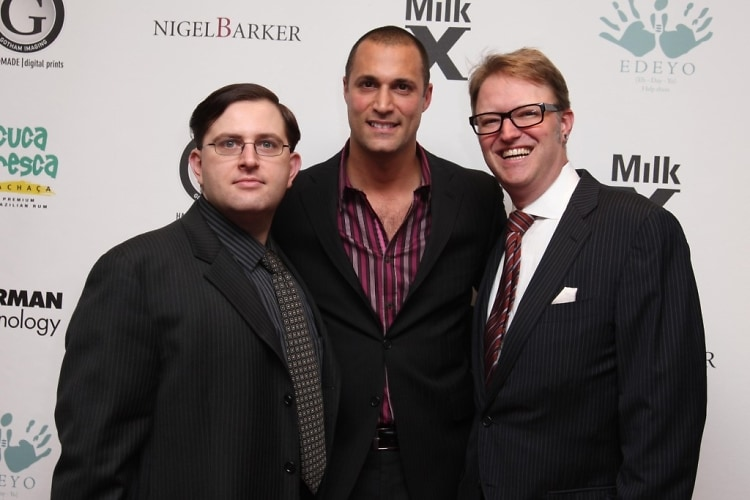 Ryan Speth, Nigel Barker, Peter Berberian