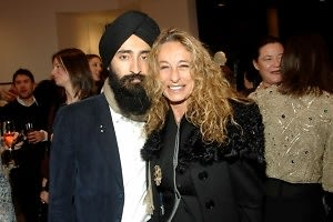 Waris Ahluwalia, Anne Dexter Jones