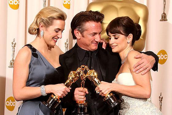 Kate Winslet, Sean Penn, Penelope Cruz