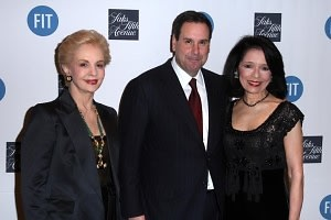 Carolina Herrera, Steve Sadove, Joyce Brown
