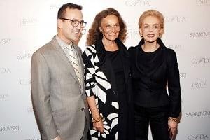 Steven Kolb, Diane von Furstenberg, Carolina Herrera