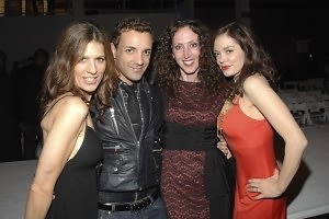 Perrey Reeves, George Kotsiopoulos, Jennifer, Rose McGowan