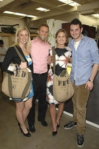 Ellen Gustafson, Courtney Reum, Lauren Bush, Daniel Lipkin