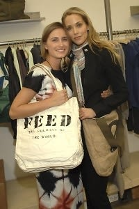 Lauren Bush, Elizabeth Berkley