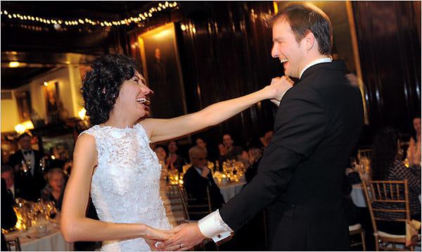 Allison Silverman and Adrian Jones