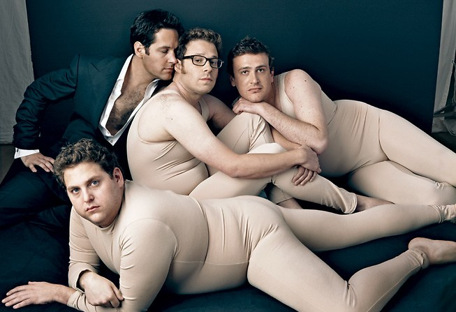 JONAH HILL, PAUL RUDD, SETH ROGEN, JASON SEGEL