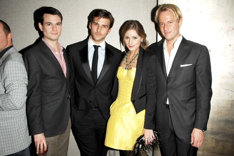 James Lowther, Johannes Huebl, Olivia Palermo, Daniel Benedict