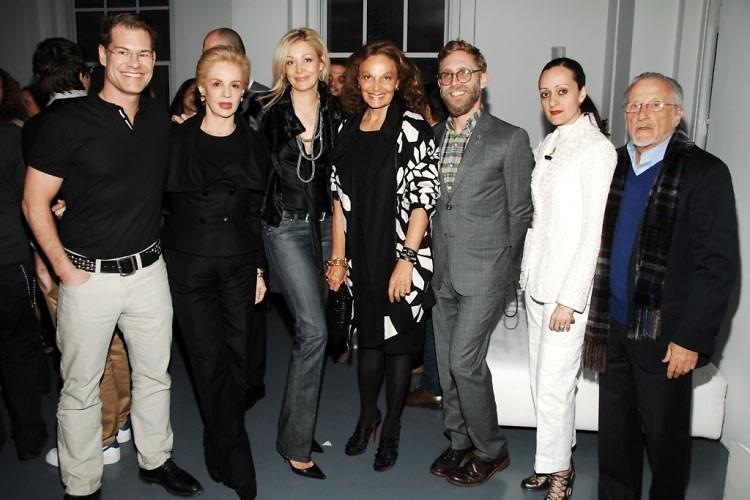 John Bartlett, Carolina Herrera, Nadja Swarovski, Diane von Fustenberg, Philip Crangi, Isabel Toledo, Stand Herman