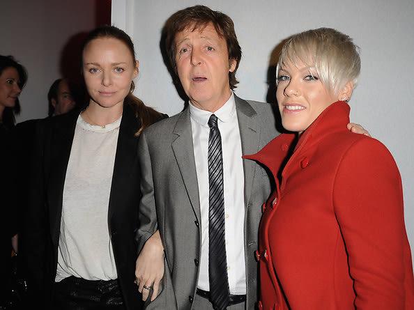 Stella McCartney,Paul McCartney, Pink