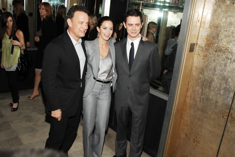 Tom Hanks, Emily Blunt, Colin Hanks
