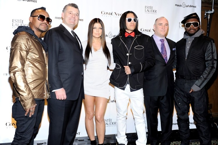 apl.de.ap, William P. Lauder, Fergie, Taboo, Richard D. Beckman, Will.i.am