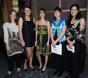 Danika Swanson, Leah Thompson, Cathleen Cimino, Sydney Peng, Azadem Fartasm