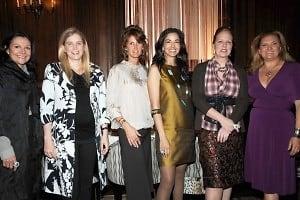 Leslie Stevens, Leslie Heaney, Christina Smith, Dayssi Olarte De Kanavos, Anne Grauso, Melanie Holland