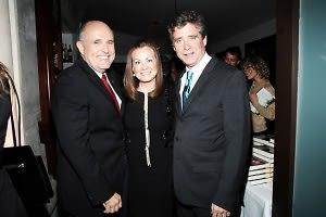 Rudy Giuliani, Judith Giuliani, Jay McInerney