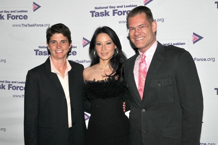 Rae Carey, Lucy Liu, John Bartlett