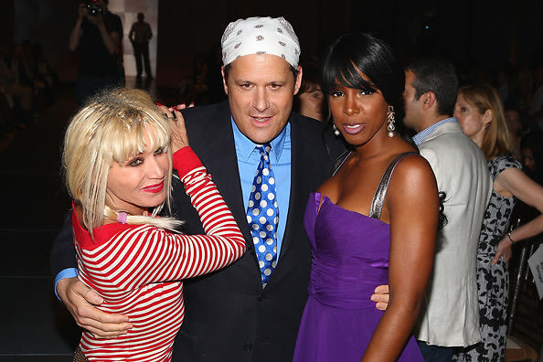 Betsey Johnson, Isaac Mizrahi, Kelly Rowland