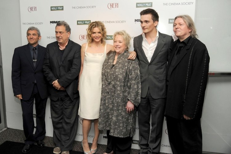 Daniel Battsek, Director Stephen Frears, Michelle Pfeiffer, Kathy Bates, Rupert Friend, Christopher Hampton