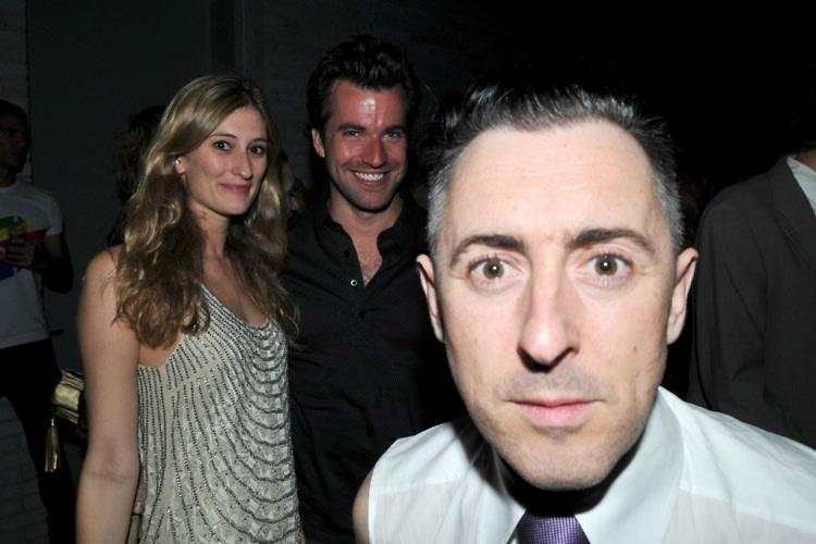 Francesca Hammerstein, Rob McGarry, Alan Cumming