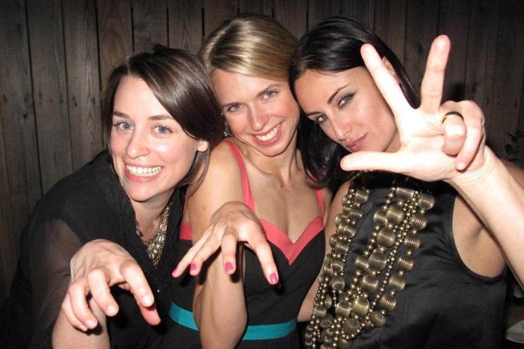 Jennifer Pelka, Liz Trenkel, Lesley Blume