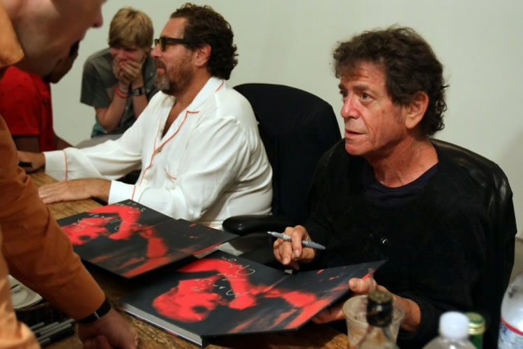 Julian Schnabel, Lou Reed