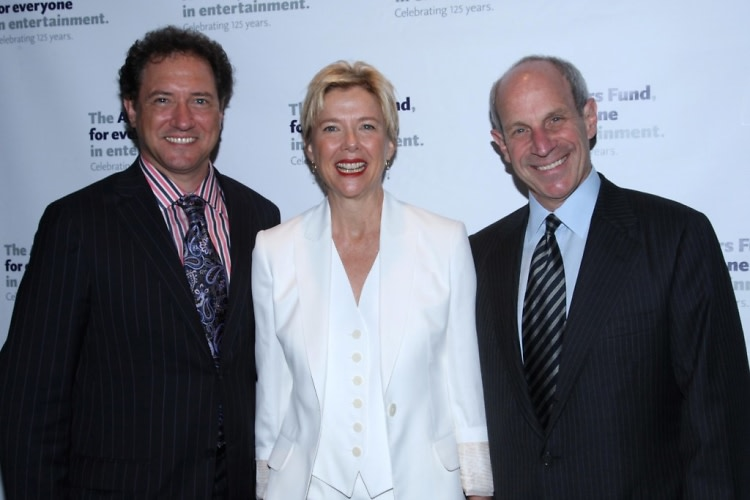 Kevin McCollum, Annette Bening, Jonathan Tisch