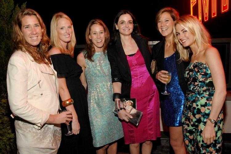Theresa Berkery, Leah Jacobson, Katie Berkery, Annie Churchill, Annie Berkery, Amanda Hearst