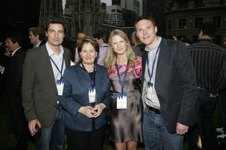 Gerrit Meier, Nina Zagat, Maxine Friedman, Daniel Klaus