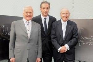Buzz Aldrin, Daniel Lalonde, Jim Lovell