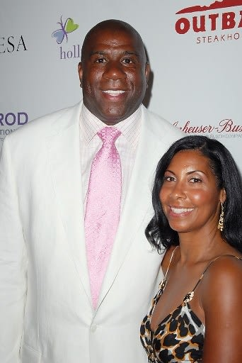 Magic Johnson, Cookie Johnson