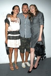 Cynthia Rowley, Bill Powers, Rachel Feinstein