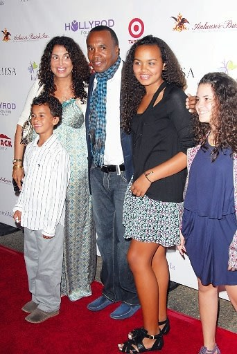 Sugar Ray Leonard and Family