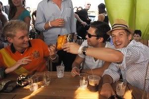 Toby Hemingway, Sebastian Stan, Will Malnati