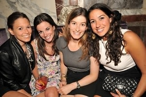 Lindsay Zuckerman, Danielle Abraham, Jennifer Legum, Courtney Popkin